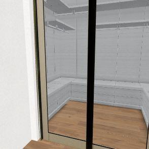 closed Interior Design Render