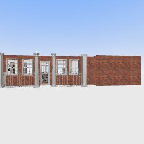 brick Interior Design Render
