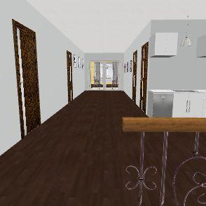 Dream Home 3rd Floor Interior Design Render