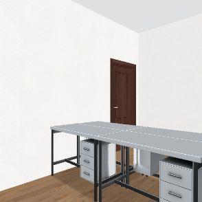 办公室2 Interior Design Render