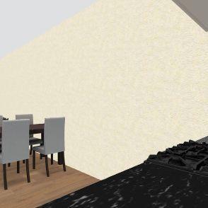 58 კვადრატიანი axali Interior Design Render