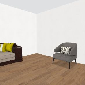 mancave Interior Design Render