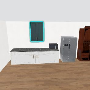 kicthen Interior Design Render