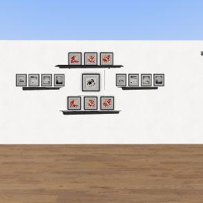 Wall design Interior Design Render