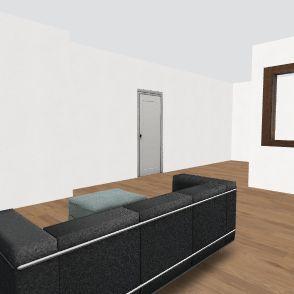 pass through kitchen Interior Design Render