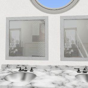 two Interior Design Render