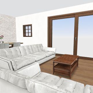 Spiti mas Interior Design Render