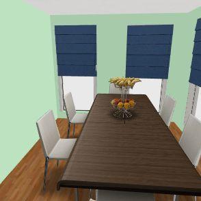 Dynasty Care Center Interior Design Render