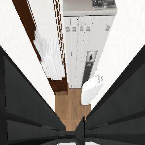 tiny housse Interior Design Render