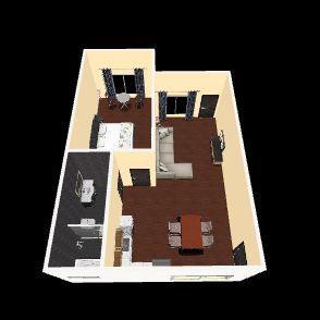campong house 2 Interior Design Render