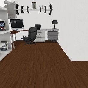 construction Interior Design Render