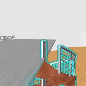 Modern day house  Interior Design Render