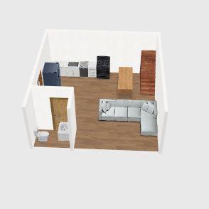 Hendricks Shop Interior Design Render