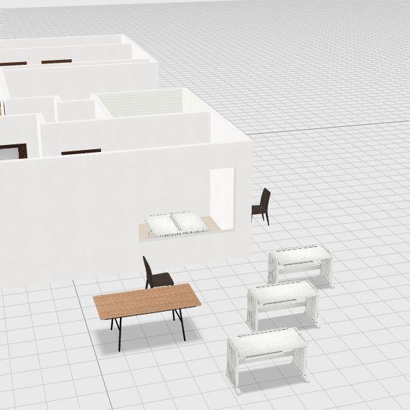 懷寧街6樓-8 Interior Design Render