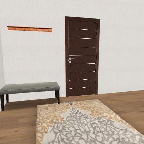 Modern Antique House Interior Design Render