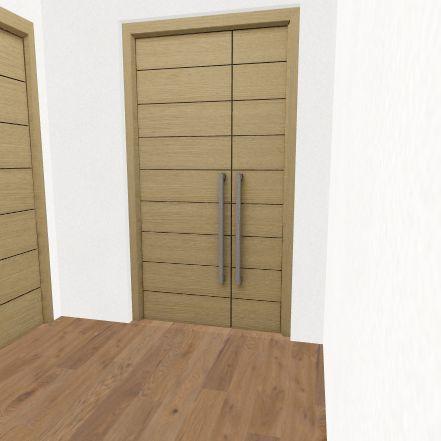 Unidad Habitacional Interior Design Render