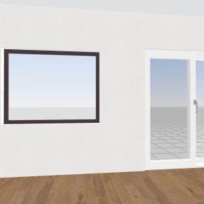 Obyvacka Interior Design Render