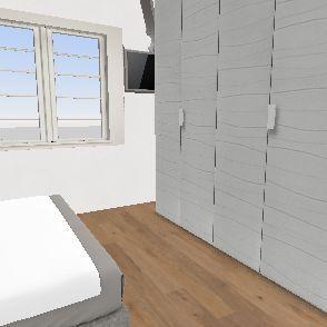 camera letto Interior Design Render