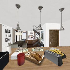 Casa Container - Sob. II 120m Interior Design Render