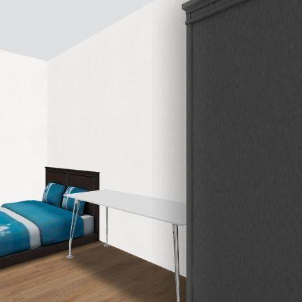 阿尼房間 Interior Design Render
