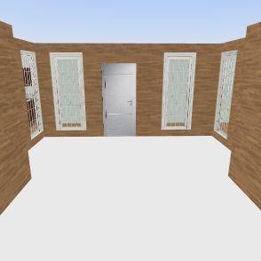 Straight Outta College Interior Design Render