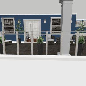 upstairs apartment Interior Design Render