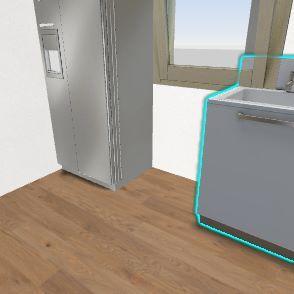 kuchnia = jadalnia szkic  3 Interior Design Render