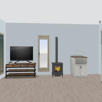 BAM COCINA MICRO DISHWAHSER Interior Design Render