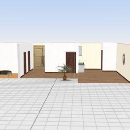 Rumah Glagah wero 1 Interior Design Render