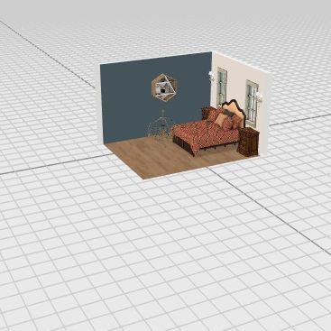my parents room Interior Design Render