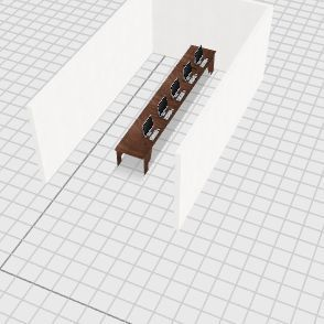 computer lab Interior Design Render