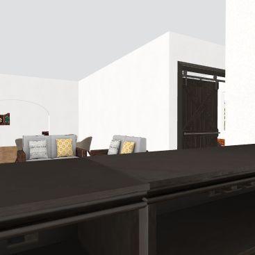 Pub and B&B Floor 1 Interior Design Render
