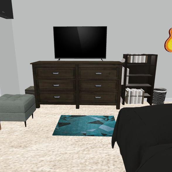 Ali's New Room v2 Interior Design Render