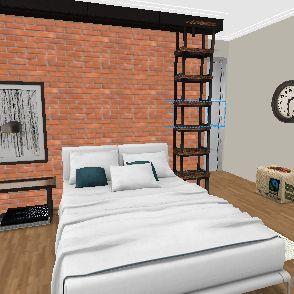 quarto 01 03 Interior Design Render