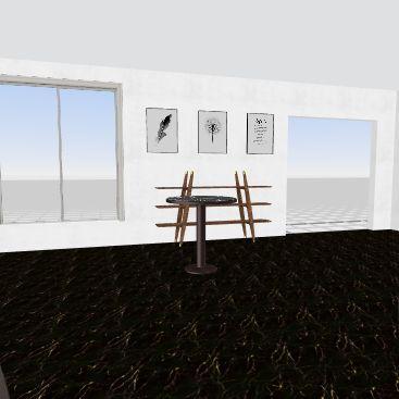 Brewins Coffee Interior Design Render