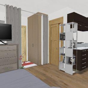 20m2 Interior Design Render