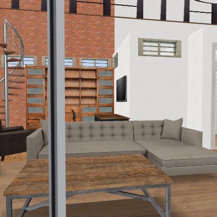 Nicola's Dream Home upstairs Interior Design Render