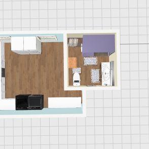 Laundry Room & Bath-2 Interior Design Render