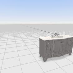 bath 48 Interior Design Render