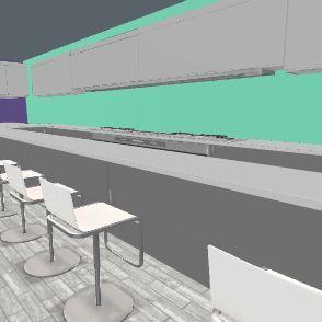 kichen Interior Design Render