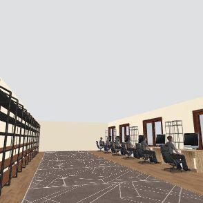 AnyTime Gaming Hq Interior Design Render