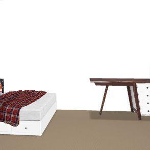 dorm room Interior Design Render
