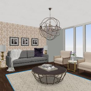 Practice Project Interior Design Render