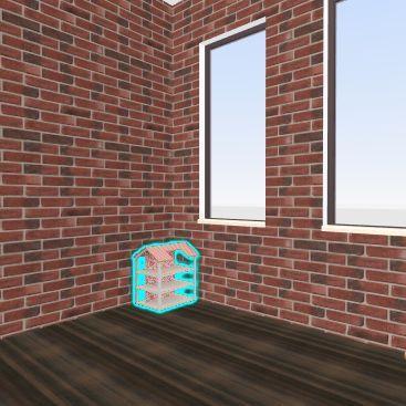 office unfinished Interior Design Render