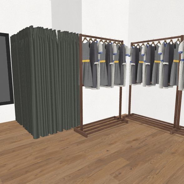 FABRIKA STORE Interior Design Render