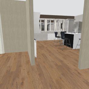 Pisti garázsos 113 Interior Design Render