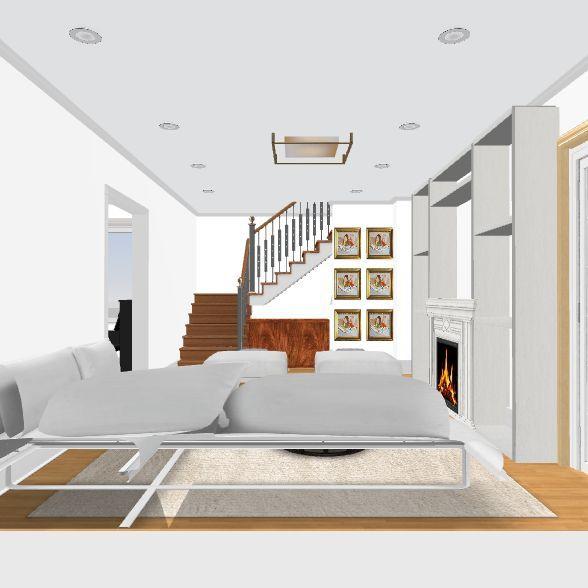 Tory Sunroom/LR Interior Design Render