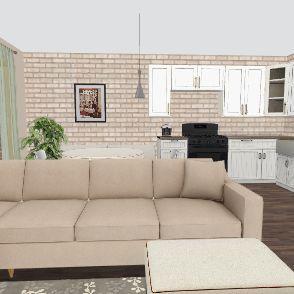 квартира3 Interior Design Render