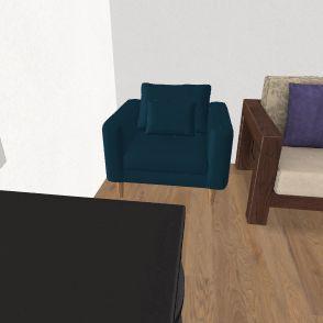 pokoj Interior Design Render