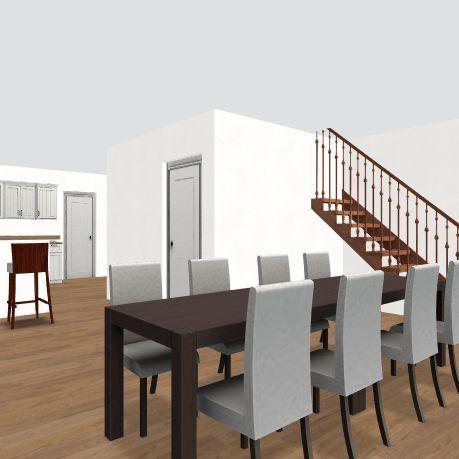 Second Floor F Interior Design Render